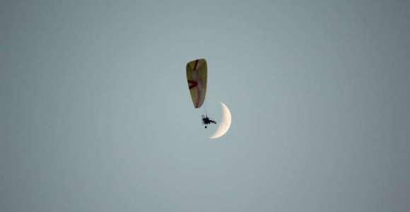 Paramotor (Motorlu Yamaç Paraşütü)