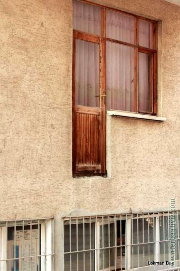Erbaa Usulü Balkon Kapısı